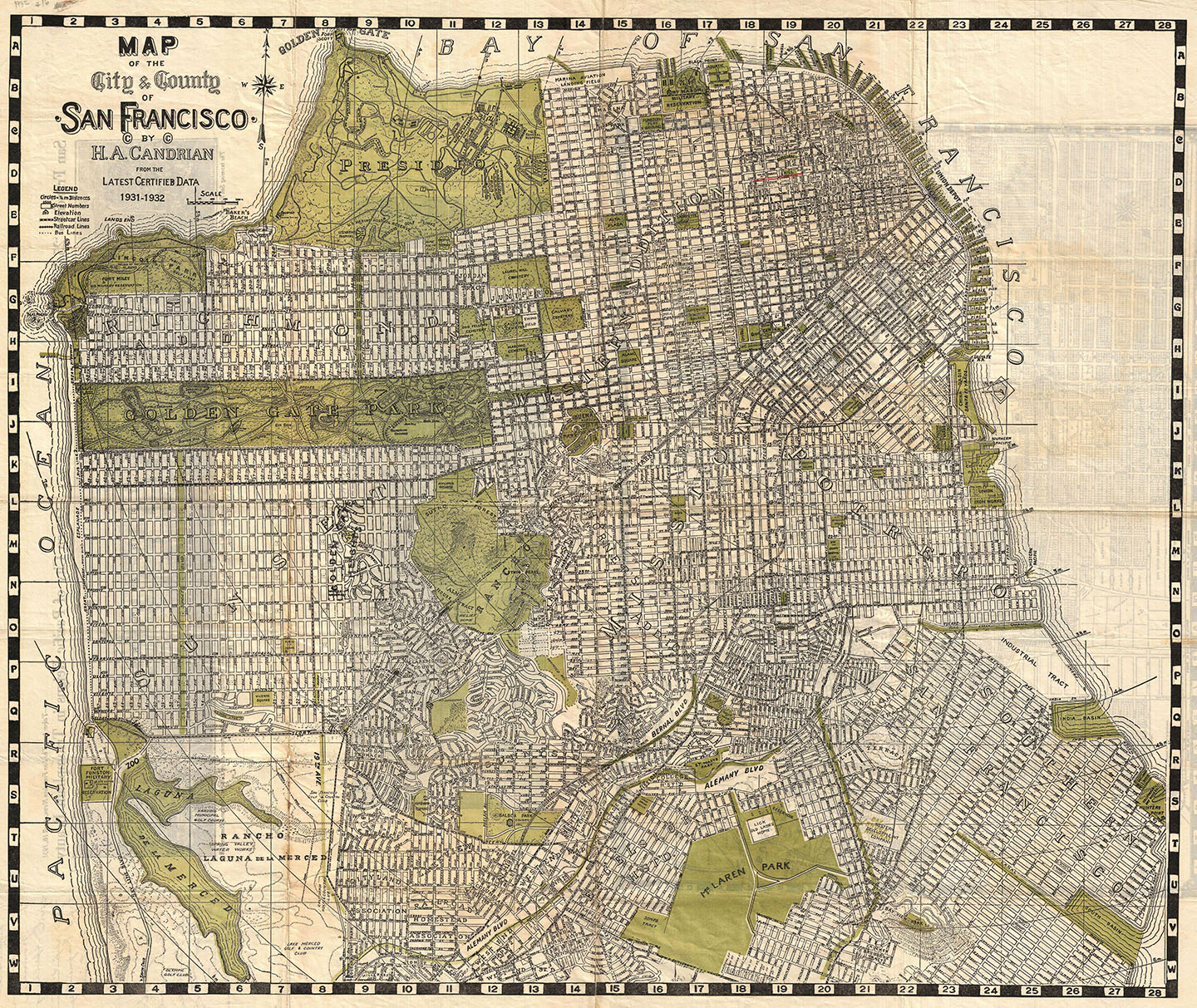 Historic Map of San Francisco
